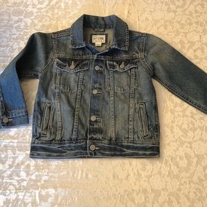 Toddler denim jacket never worn 4T